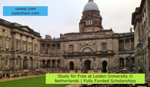 Study for Free at Leiden University in Netherlands   Fully Funded Scholarships