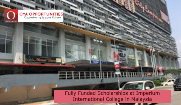 Fully Funded Scholarships at Imperium International College in Malaysia