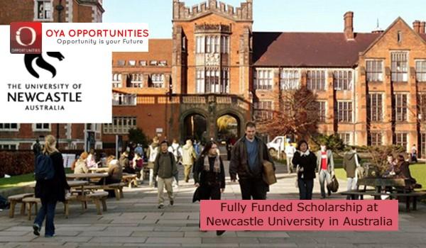 Fully Funded Scholarship at Newcastle University in Australia