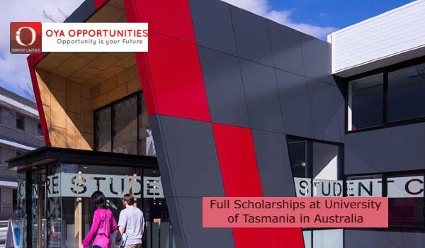 Full Scholarships at University of Tasmania in Australia