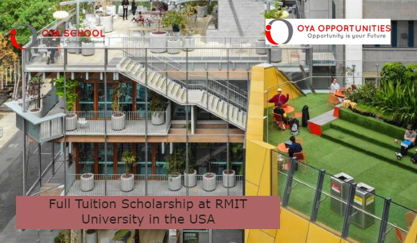 Full Tuition Scholarship at RMIT University in the USA