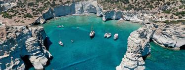 La bahía Kleftiko: mito y leyenda en la isla griega de Milos