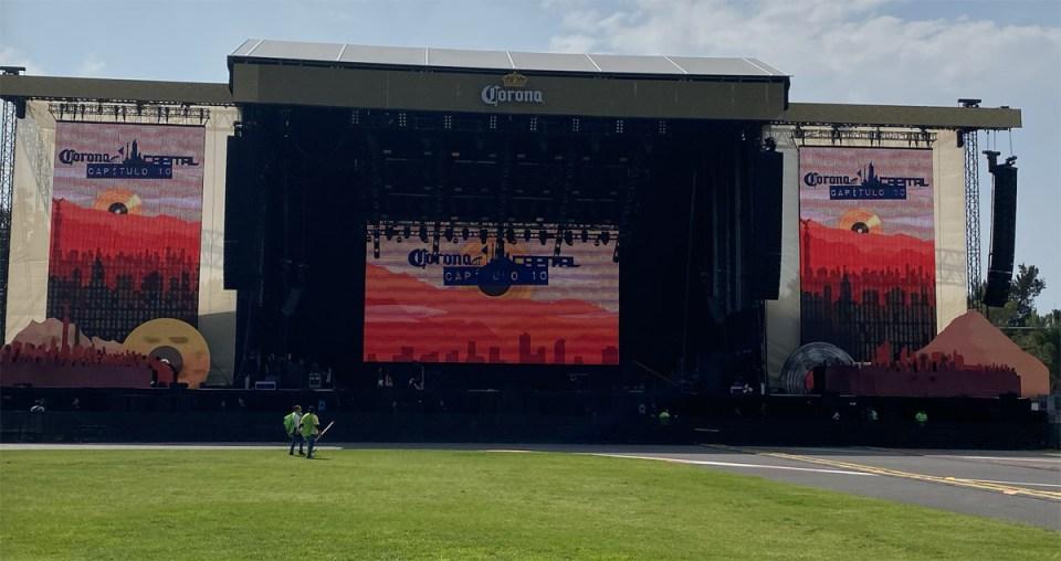 Escenario Principal del Festival Corona Capital 19