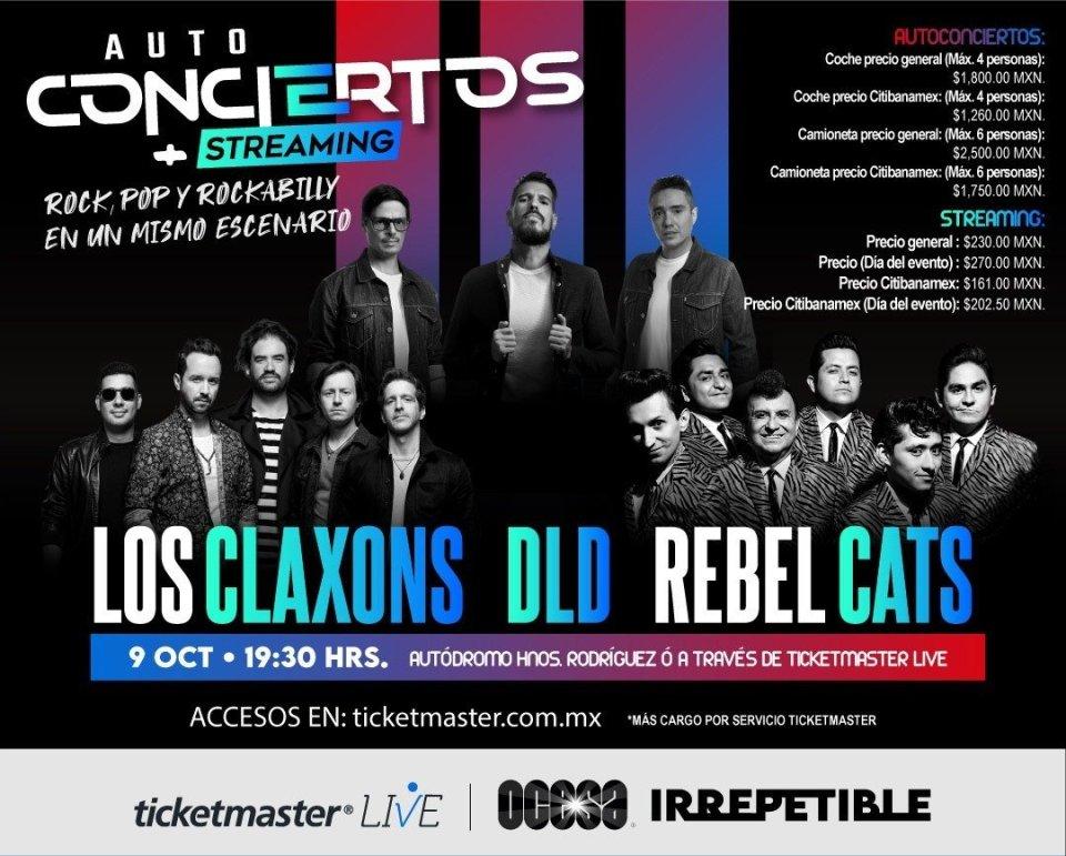 A Todo Volumen: Esta es la agenda de conciertos en línea del 9 al 11 de octubre