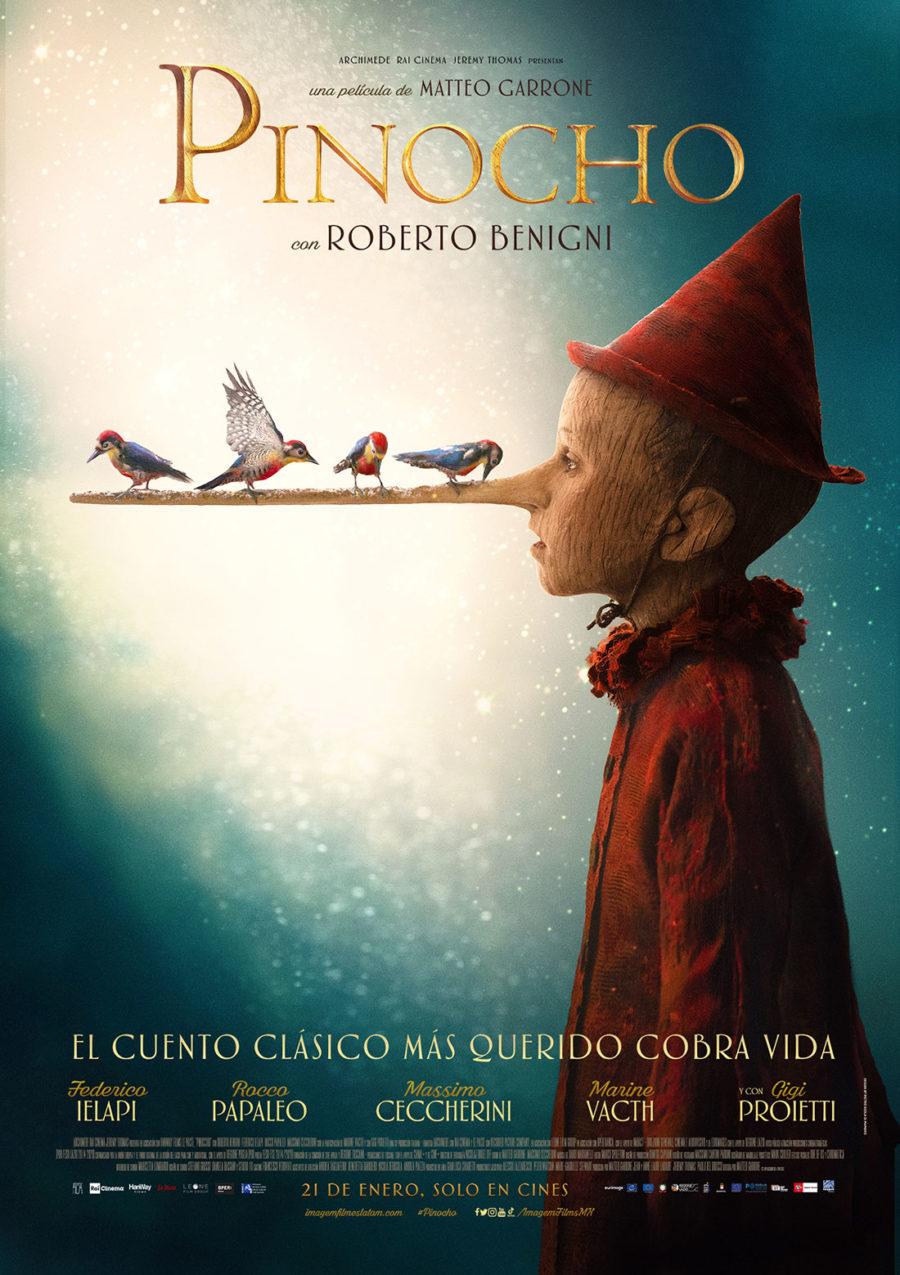 póster pinocho
