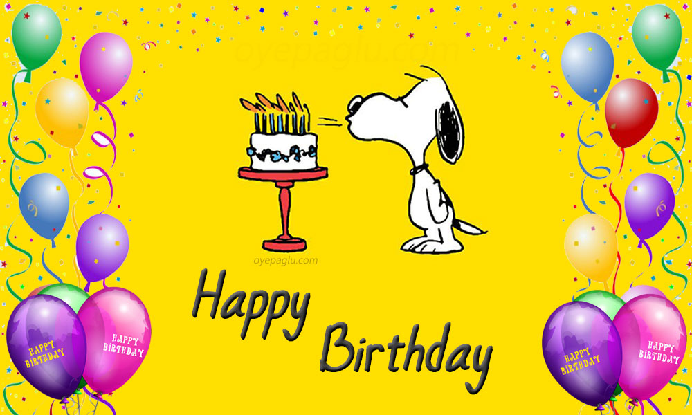 50 Snoopy Birthday Images Free Download For Bday Wish
