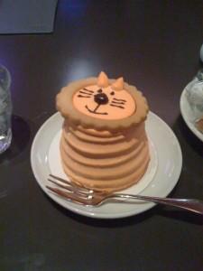 MOE30周年のケーキ