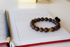 oyindoubara brown jasper beaded bracelet cp5