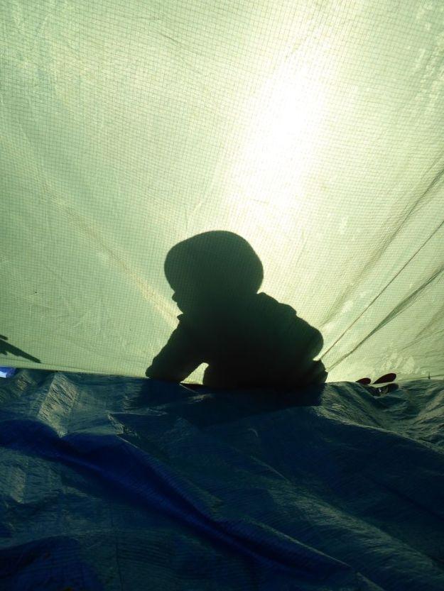 Lendemain matin : soleil ! | Next morning: sun !