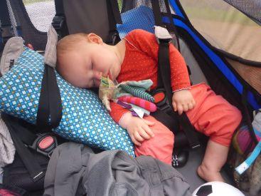 Sieste dans la remorque | Nap in the trailer