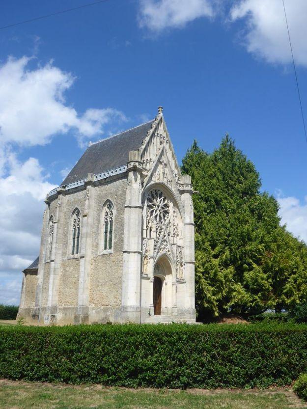 Chapelle à Lignières-Orgères