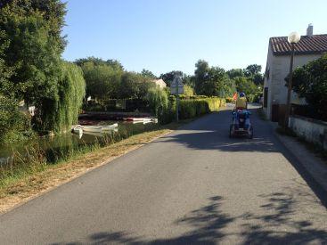 On arrive dans le Marais Poitevin