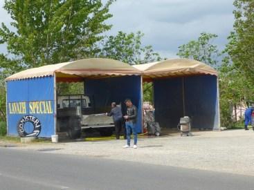 Station de lavage