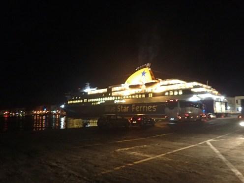 Arrivée à Chios | Arrival at Chios