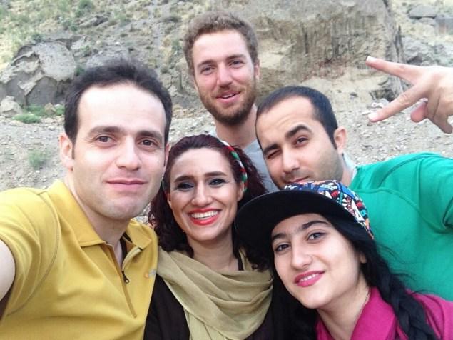 Siavash, Sepideh et Kazan