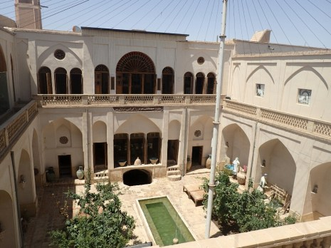 Kashan : Maison traditionnelle | Traditional house