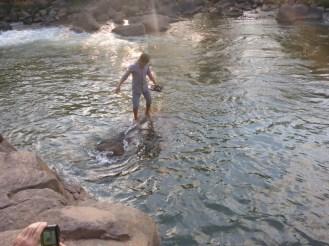 Tad Lo : le bain des éléphants | Elephants bath