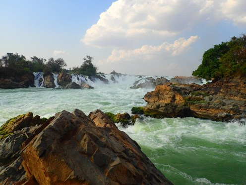 4000 îles | 4000 islands : chute du Mékong | Mekong waterfall