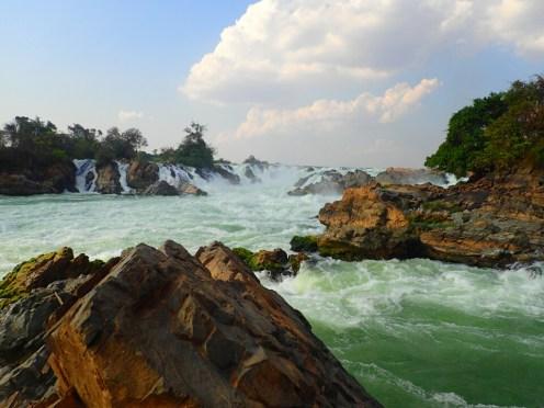 4000 îles | 4000 islands : chute du Mékong | Mekong waterfall