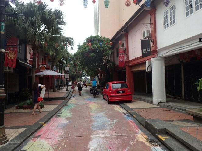 Une rue de Johor | A street of Johor
