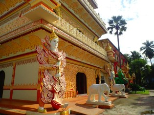 Penang : Temple birman | Burmese temple