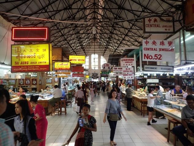 Rangoon : Marché | Market
