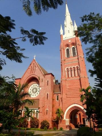 Rangoon : Cathédrale | Cathedral