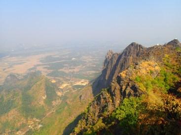 Hpa-an : Vue du Mont Zwegabin | View from the Zwegabin mount