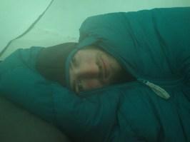 Il fait pas chaud dans la tente
