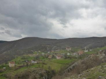 Mosquée dans la montagne