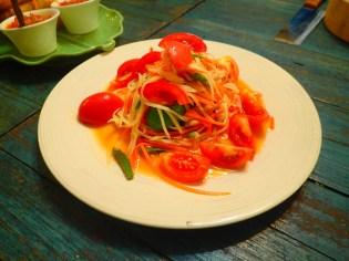 Salade de papaye | Papaya salad