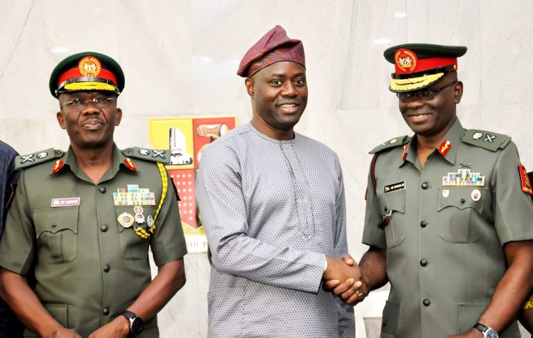 GOC tasks officers, men on discipline