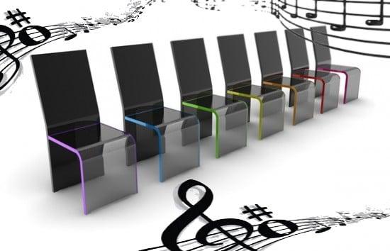 Une expérience des chaises non musicales