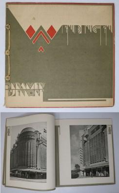 Wendingen:Series 7  1925 no.11-12:P. Kramer's Bijenkorf