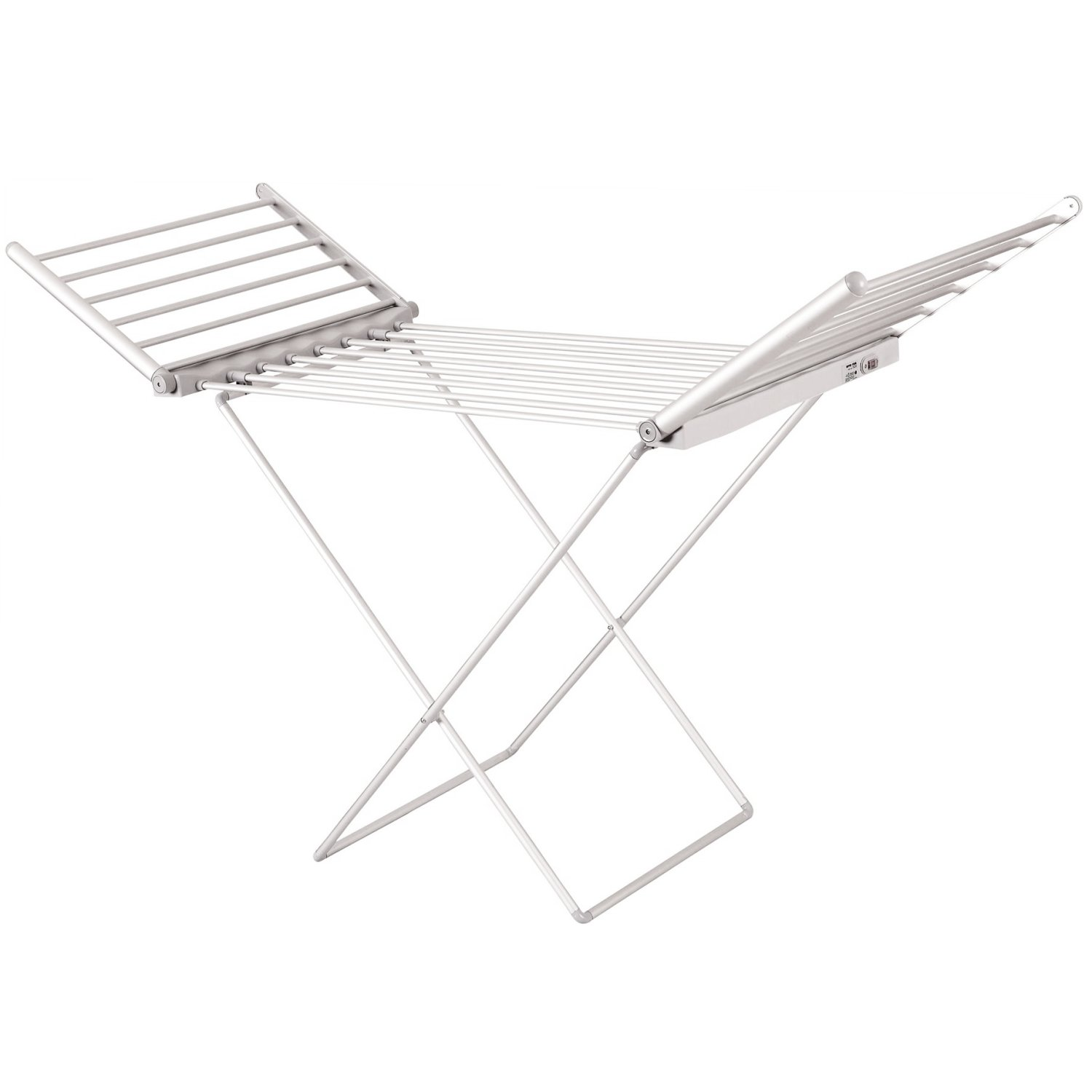 Electric Extendable Heated Folding Clothes Horse Airer