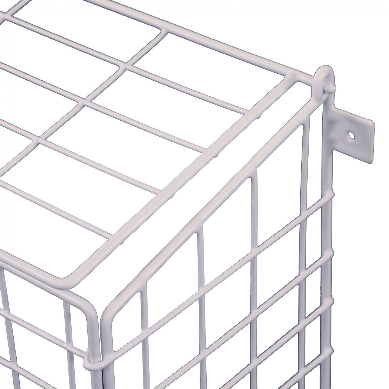 Large Letterbox Door Post Mail Catcher Basket Cage Holder
