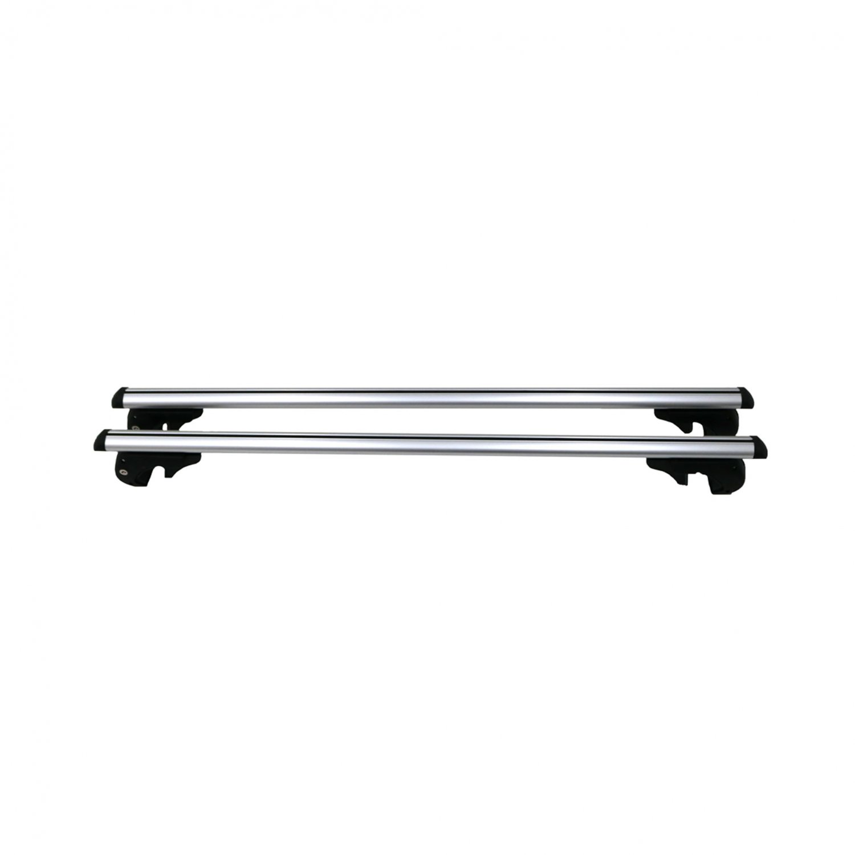Universal Adjustable Aluminium Lockable Car Roof Rack Bars Rails