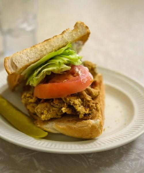 Casamento's Louisiana Oyster Loaf