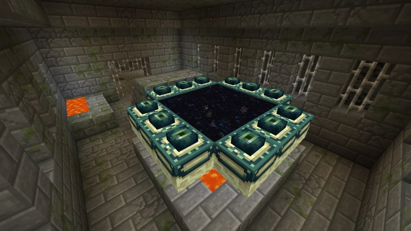 How To Make A End Portal Frame In Minecraft Xbox 360