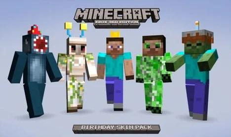 Minecraft Birthday Skins Minecraft Wiki Guide IGN