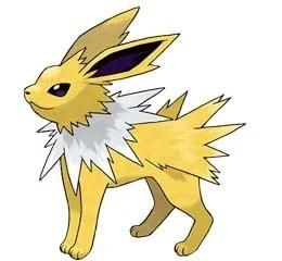 Jolteon i Pokemon GO