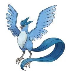 Articuno i Pokemon GO