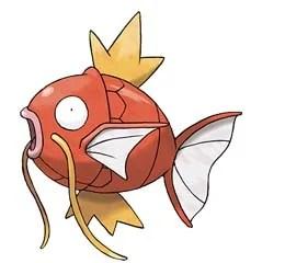 Magikarp i Pokemon GO