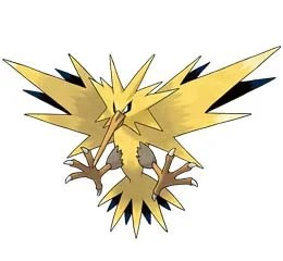 Zapdos i Pokemon GO