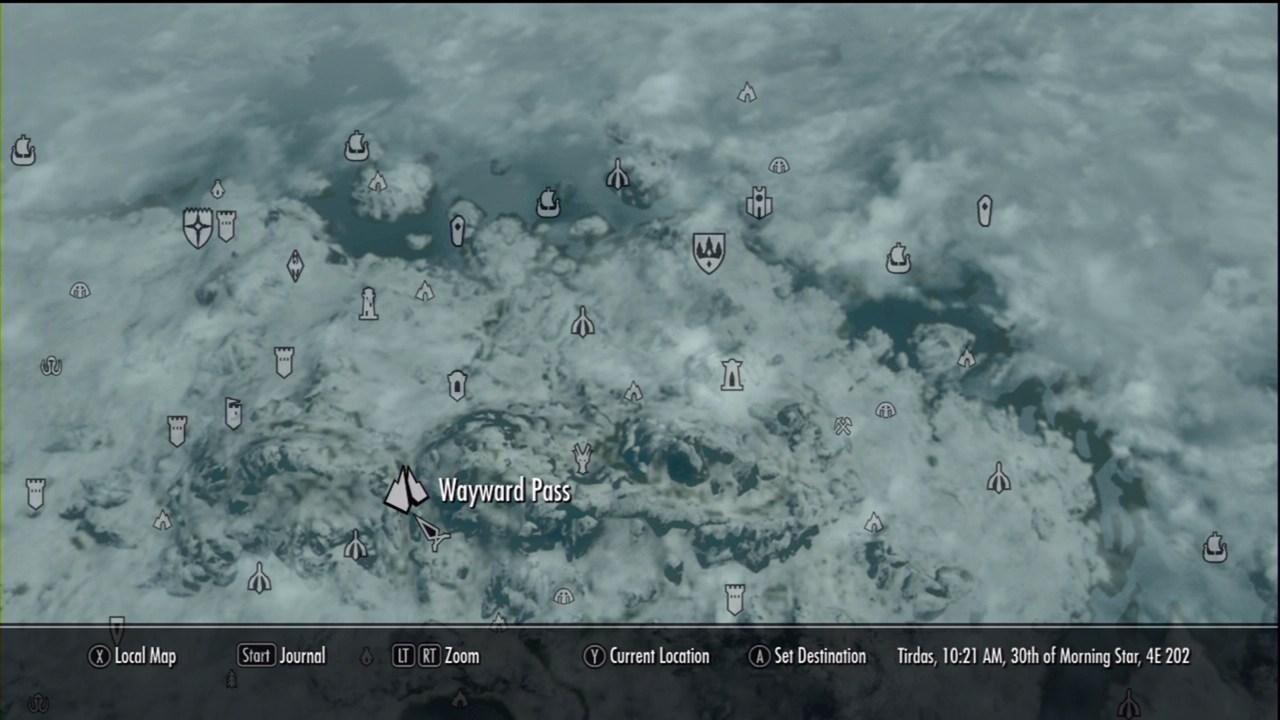 Wayward Pass The Elder Scrolls V Skyrim Wiki Guide IGN