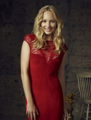 Candice Accola in The Vampire Diaries.