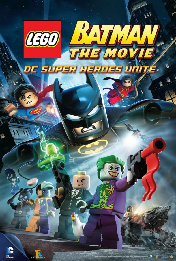 LEGO Batman: The Movie - DC Super Heroes Unite (2013) DVD cover image