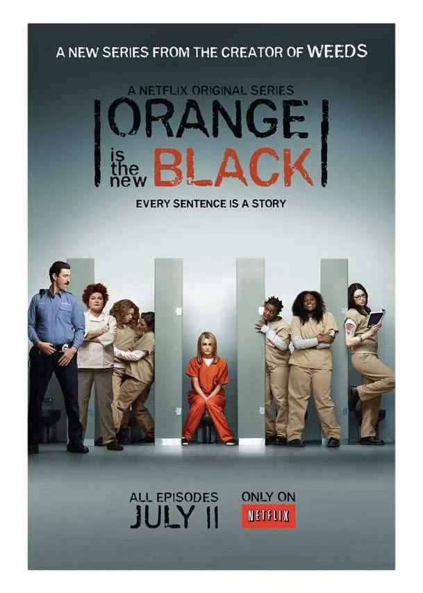 Orange is the new black affiche