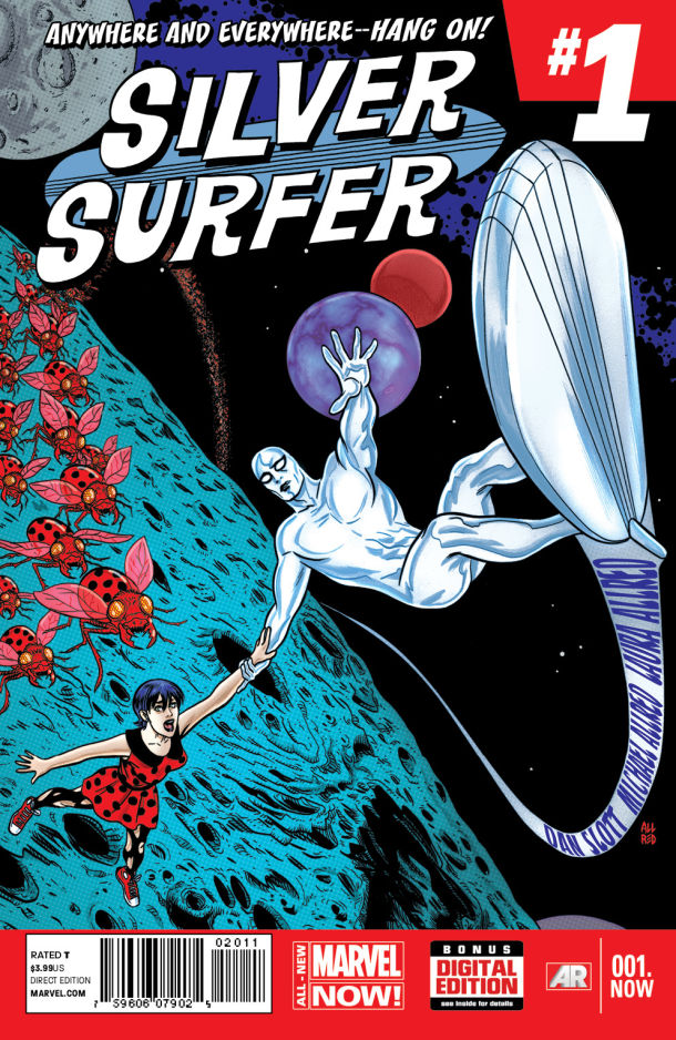 Silver Surfer 001 Mike Allred Cover