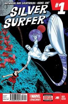 silver surfer #1 allredd slott